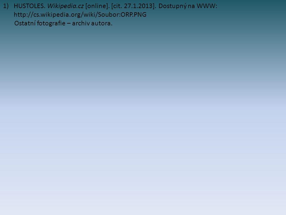 HUSTOLES. Wikipedia. cz [online]. [cit. 27. 1. 2013]